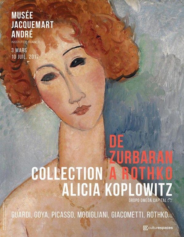 Affiche Amedeo Modigliani - La Rousse au pendentif (1979)