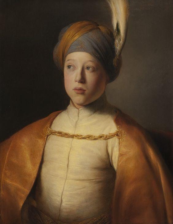 Jan Lievens - Garçon à la cape et au turban - Portrait du Prince Rupert du Palatinat, New York - The Leiden Gallery