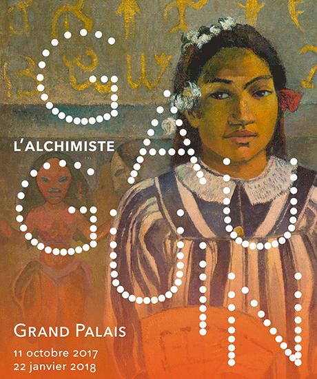 Affiche de l'exposition Gauguin l'alchimiste au Grand Palais