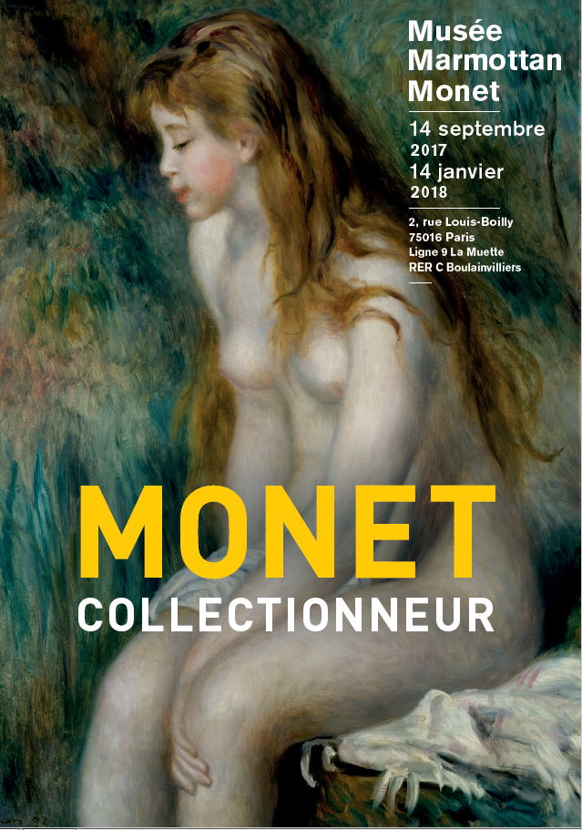 Affiche Exposition Monet collectionneur