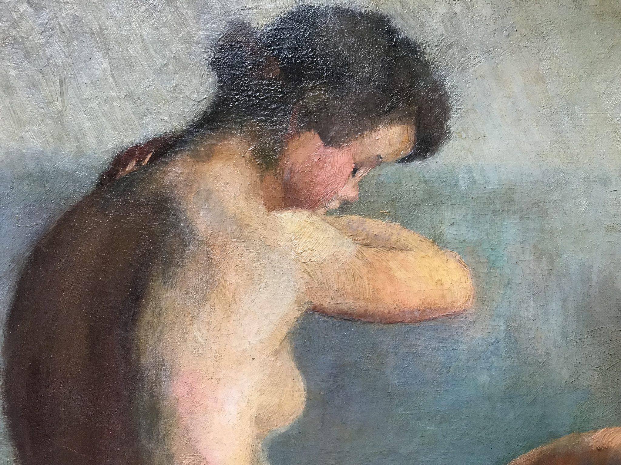 Élisabeth BABIN - Huille sur toile
