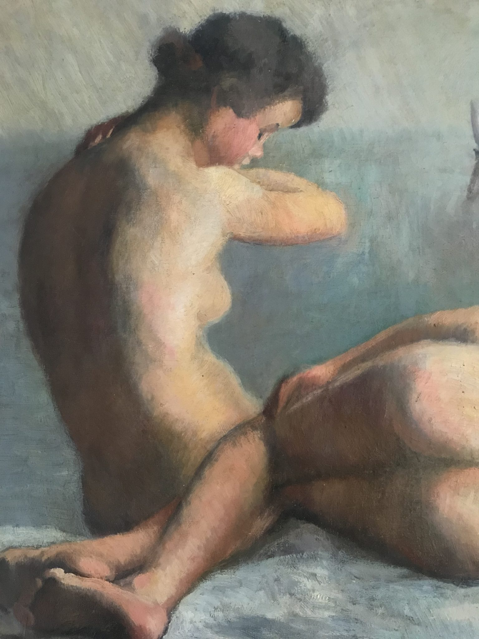 Élisabeth BABIN - Huile sur toile