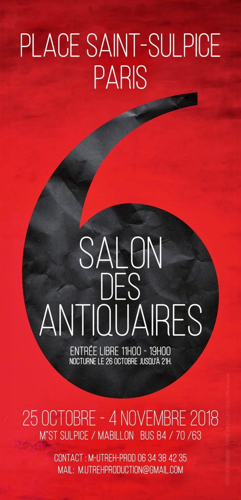 Salon des Antiquaires St Sulpice Octobre 2018