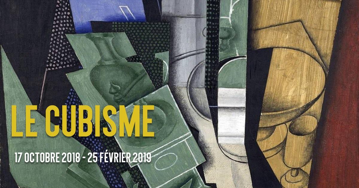 """Affiche exposition """"Le Cubisme"""", Centre Pompidou"""
