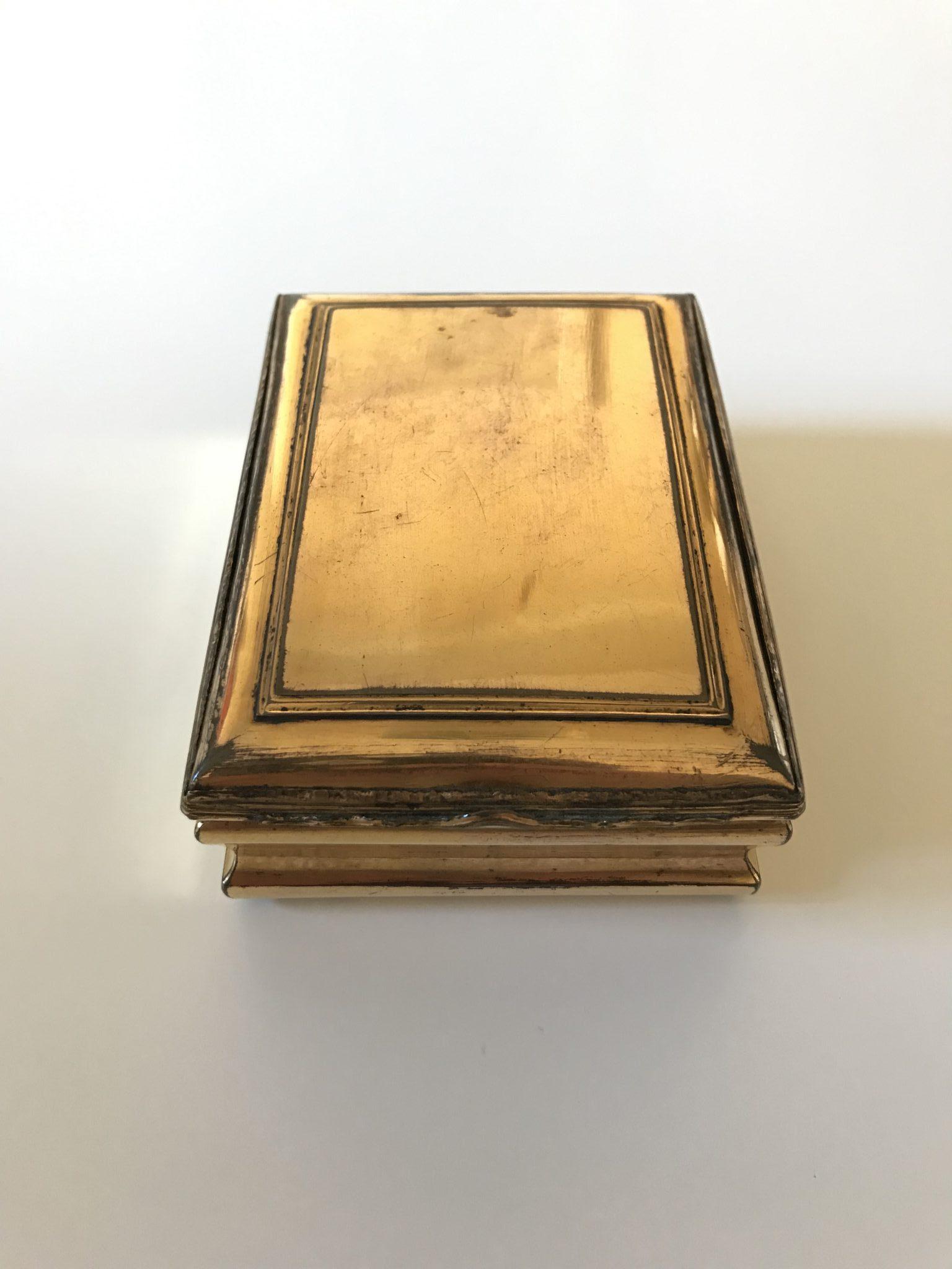 Rare tabatière vers 1690, pays bas