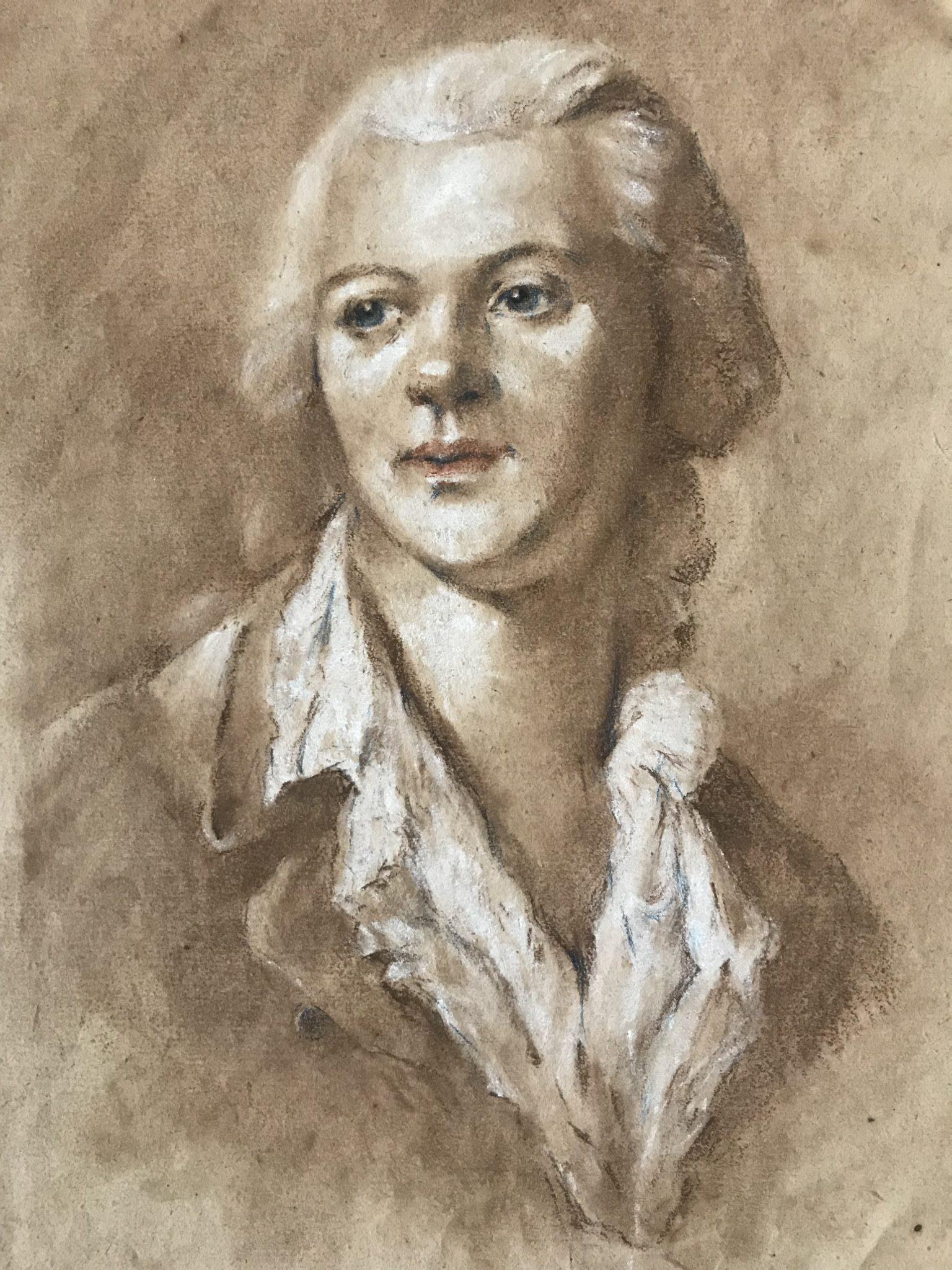 Portrait d'un homme XVIIIème