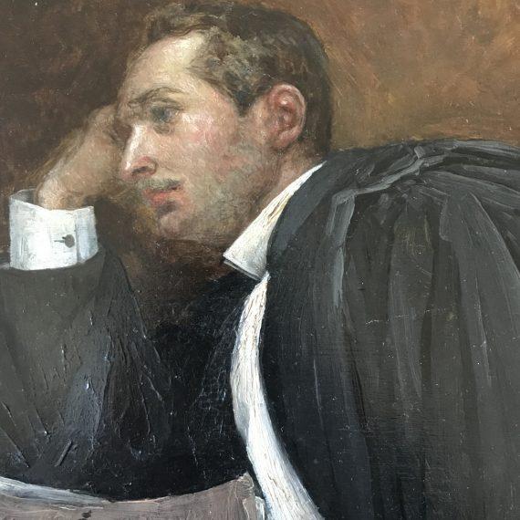 Paul Elie SALZEDO - Huile sur panneau