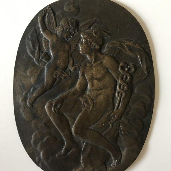 Georges LEMAIRE - Plaque en bronze